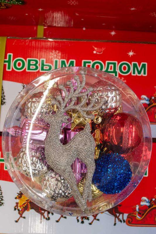 Набор новогодних шаров