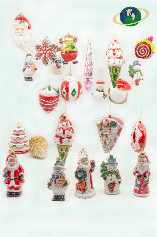 Набор новогодних игрушек «МИКС»