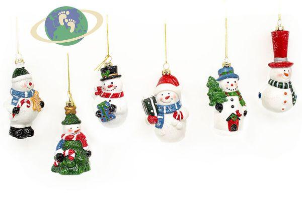 Набор новогодних игрушек арт. 002
