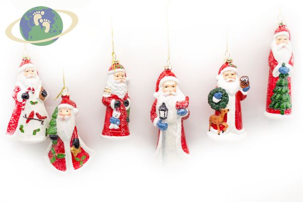 Набор новогодних игрушек арт. 001