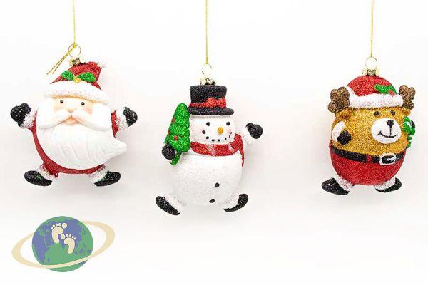 Набор новогодних игрушек арт. 22081