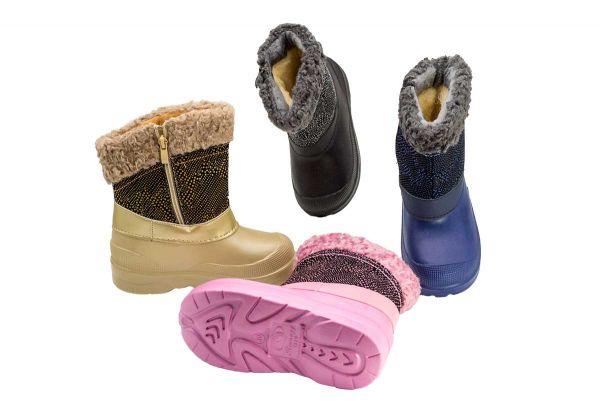 Сапоги зимние (Сноубутсы) детские 1820-A2