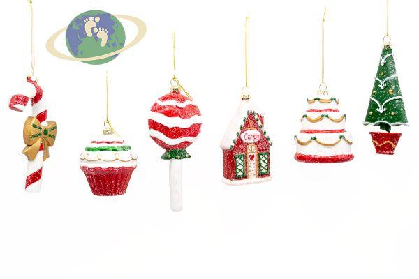Набор новогодних игрушек арт. 22076