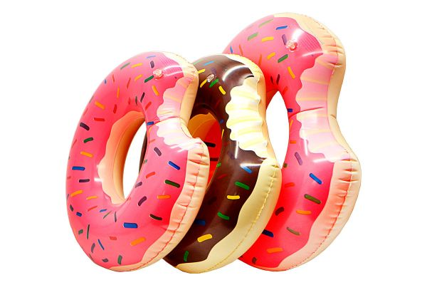 Надувной круг «Пончик» 1239-18