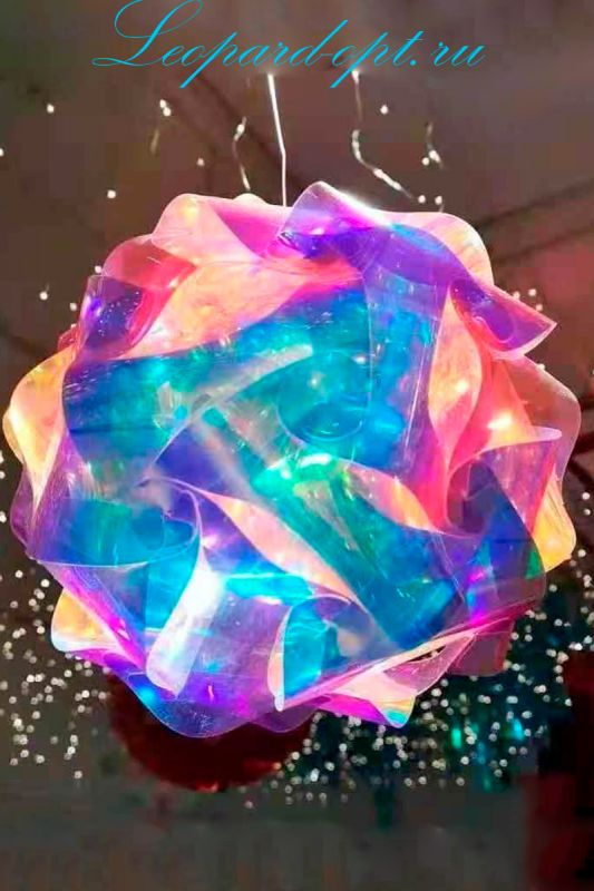 Гирлянда «Огненные шары 3D»