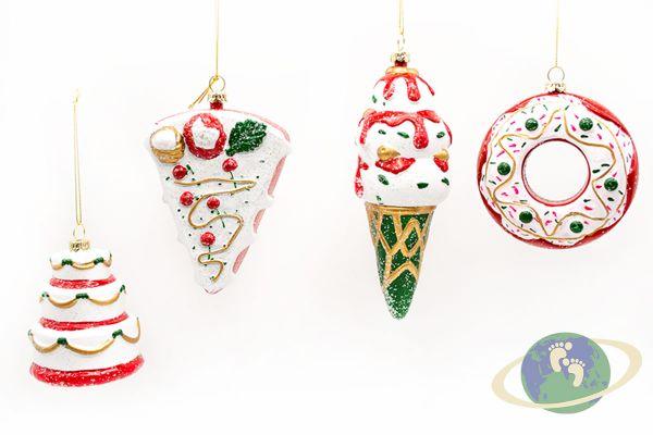 Набор новогодних игрушек арт. 22077